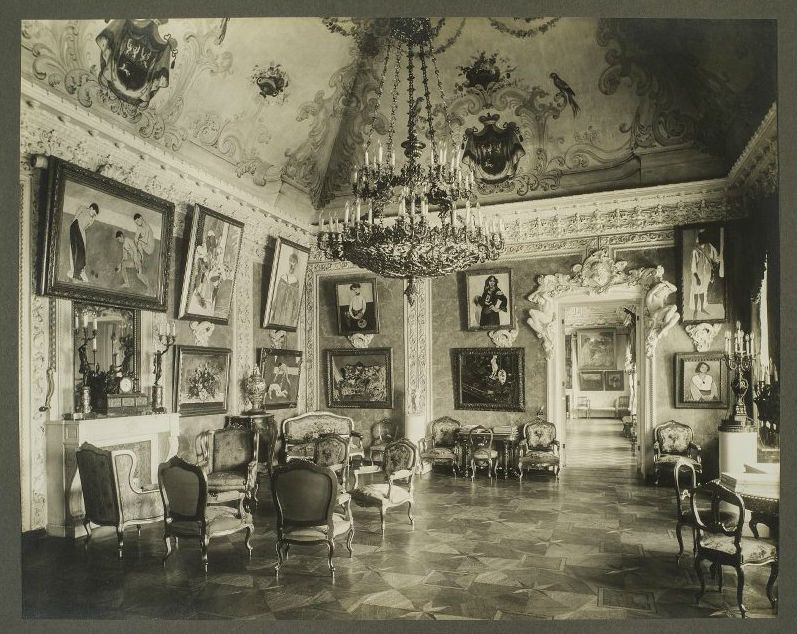 1913 Зал Матисса в особняке С.И. Щукина