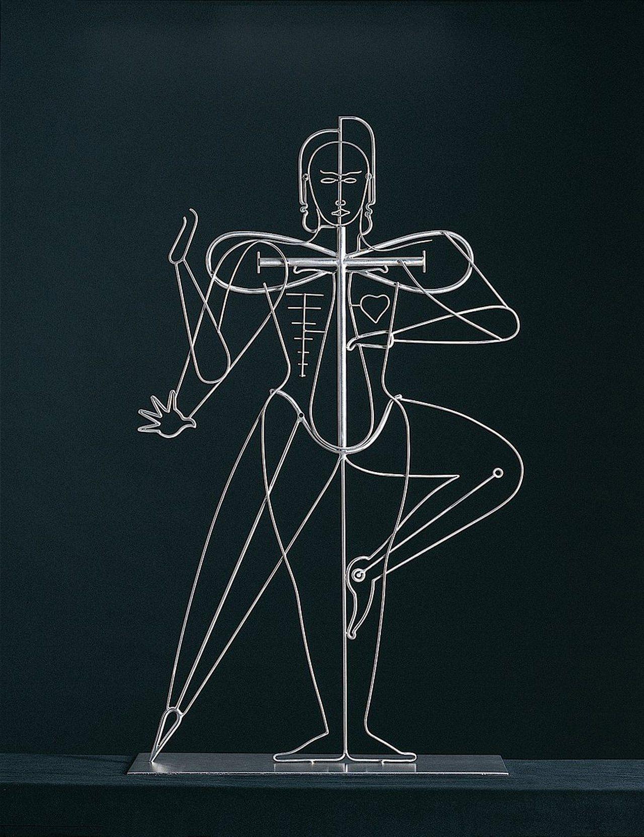 О. Шлеммер. Линии в человеке, 1924(1986)