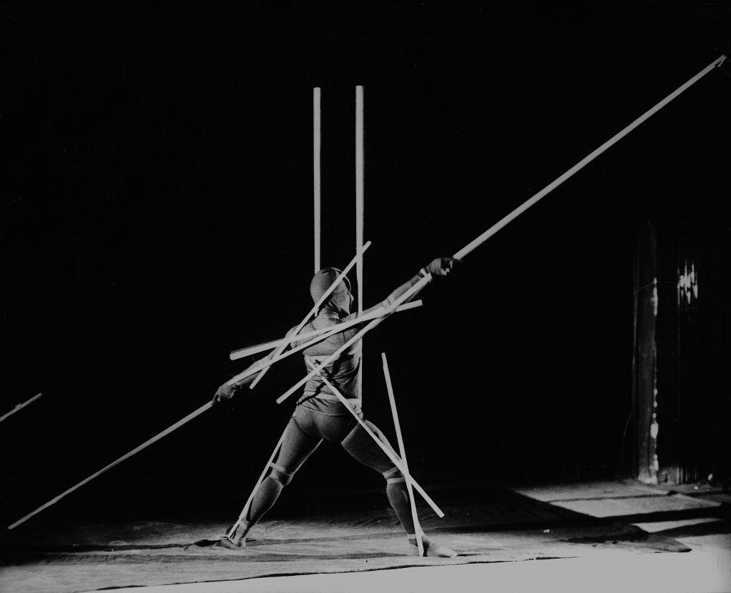 О. Шлеммер. Реечный танец, 1929