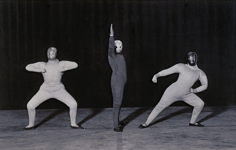 О. Шлеммер. Танец в пространстве, 1927