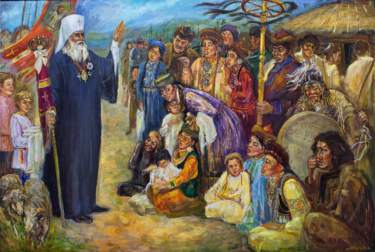 Татьяна Ларёва. Проповедь Иннокентия Вениаминова. 2015-2018