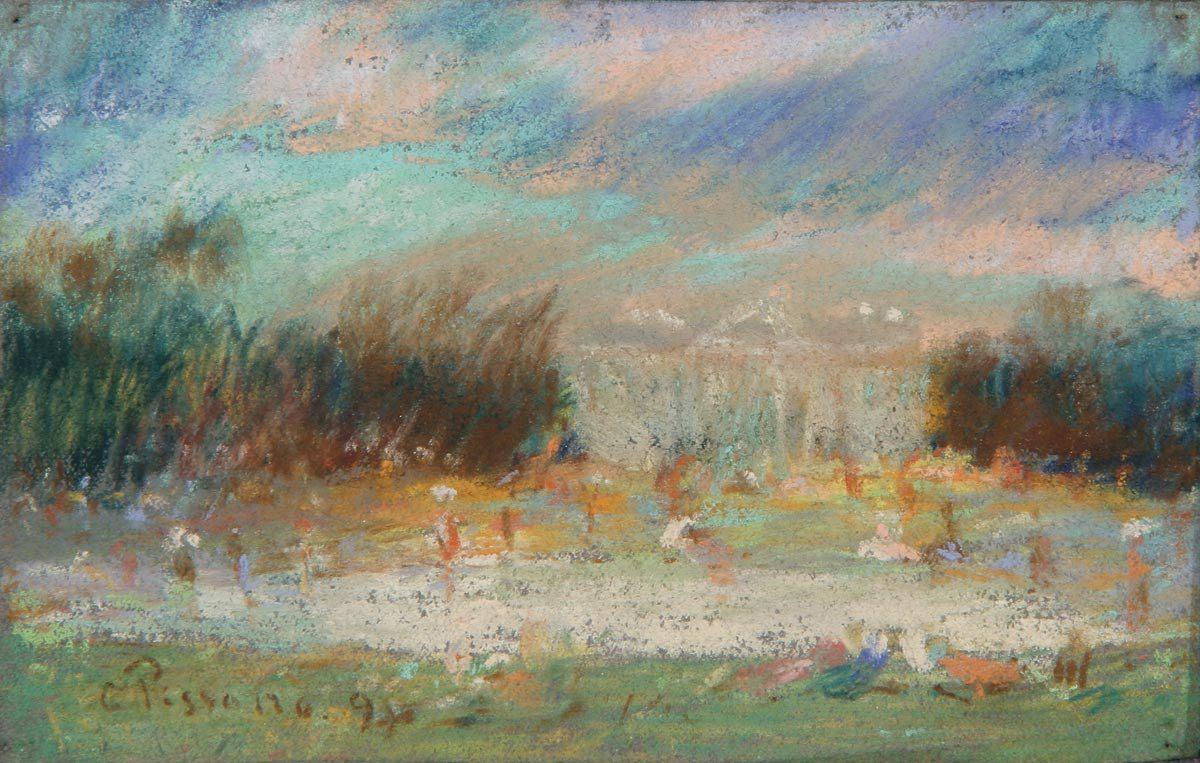 Камиль Писсаро. Пейзаж. 1897