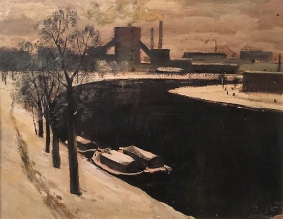 Black water. Exhibition Michael Zvyagina