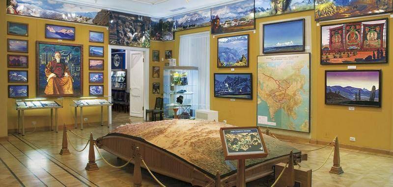 Открытие виртуального тура по общественному Музею имени Н.К.Рериха