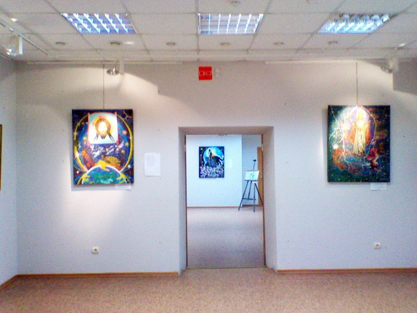 Выставка Валерия Михайловича Абубекерова «Кистью и словом»