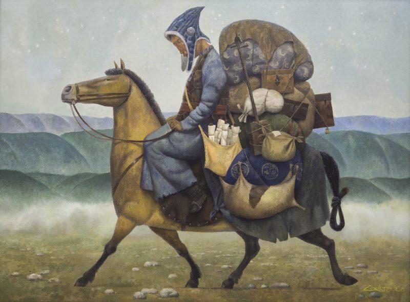 Выставка Зорикто Доржиева «Степная история»