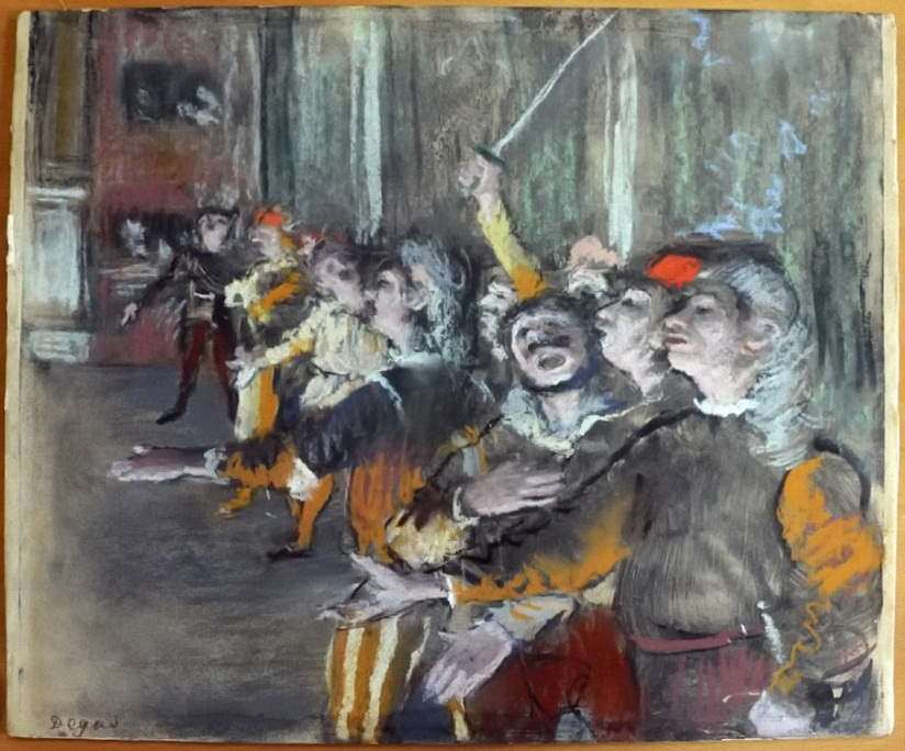 Degas, stolen in 2009, found in a bus near Paris