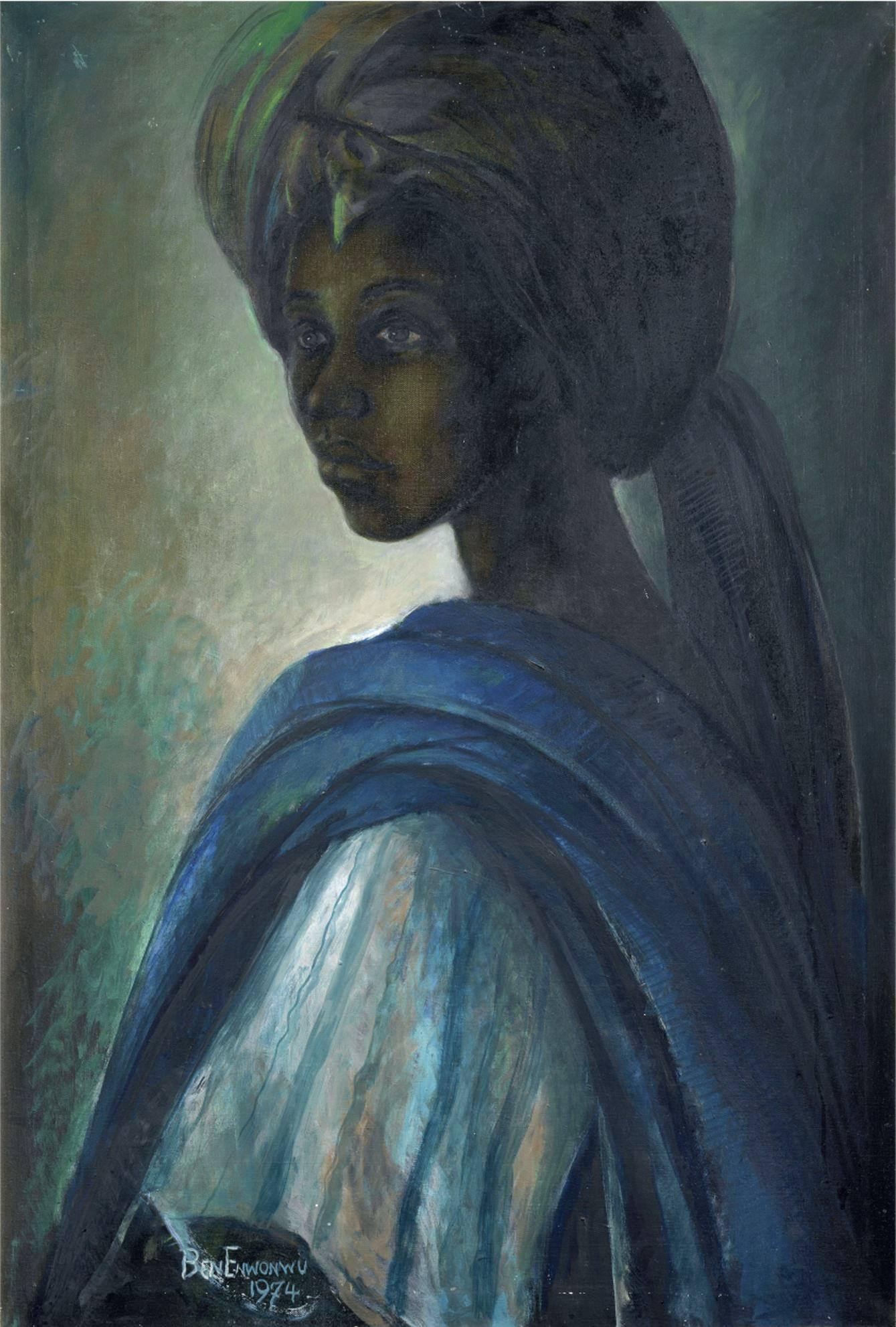 Бен Энвонву – Адетуту Адемилуйи (1974) Оригинальный размер: 1689x6950px, 6.2 Mb
