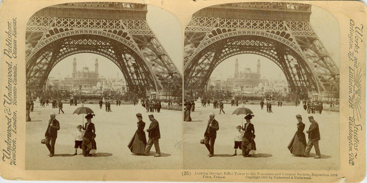 «Всемирная выставка в Париже 1900 года в стереопарах и фотографиях»