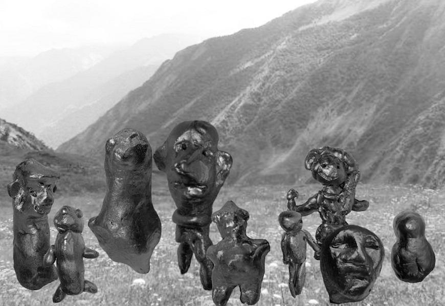 Е. Ржезникова. Российский Дагестан. Инсталляция, видео, скульптура