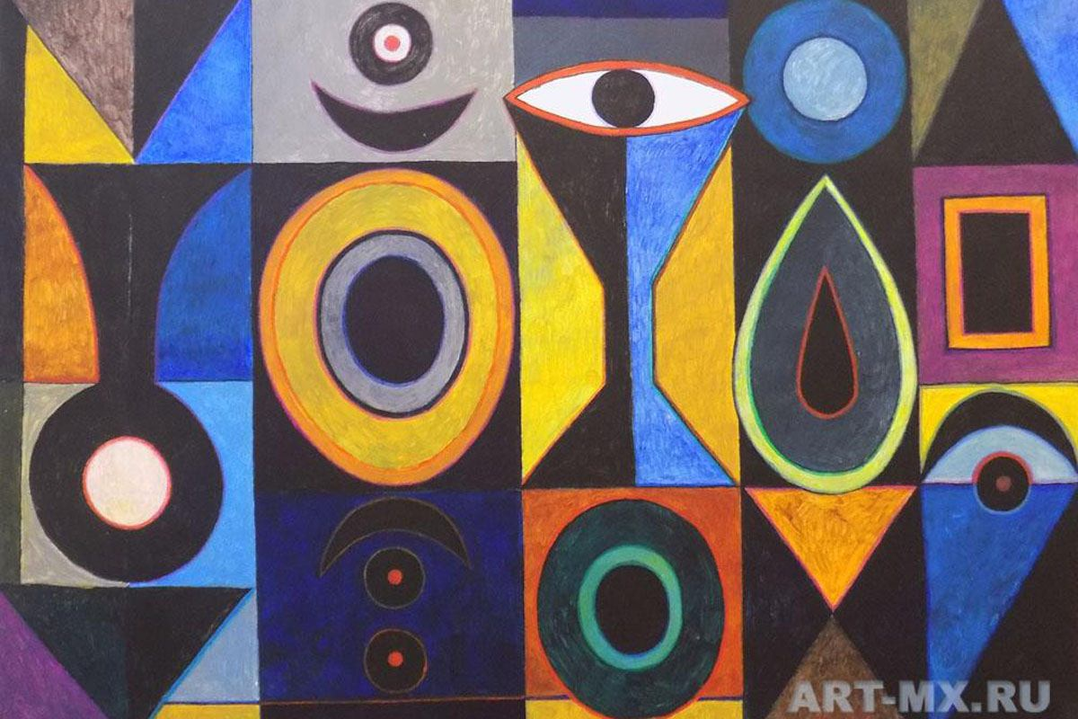 "Exhibition of Sergey Zakharenko ""Color geometrism"""