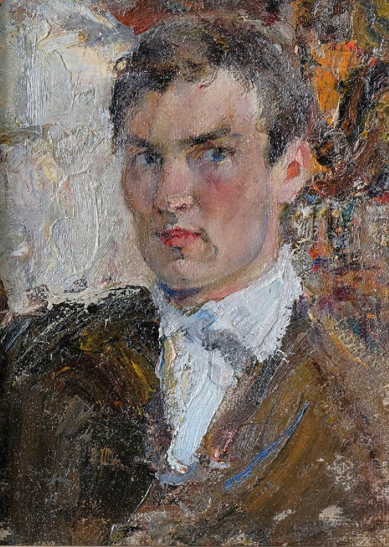 Жилов Д.С. Автопортрет 1915-1910-е