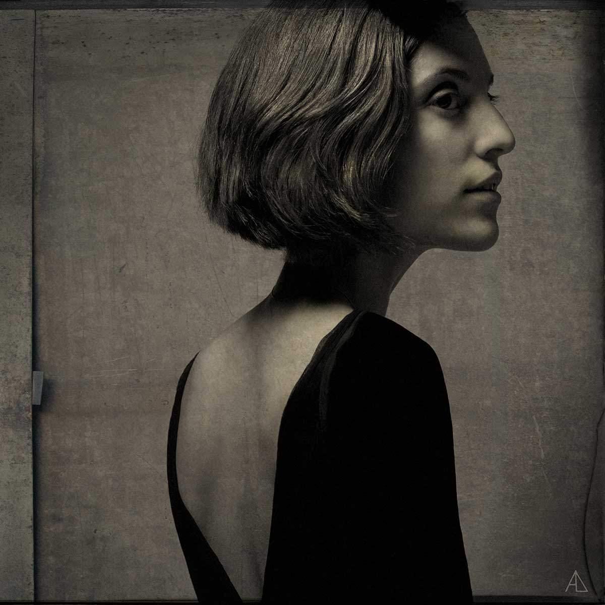 Портрет Оли, © Александра Ов-Лебедев, 2012