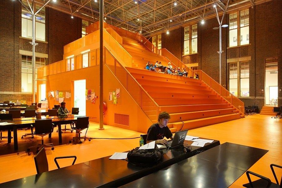 Архитектурный факультет Делфтского технического университета. Нидерланды. ©MVRDV, Fokkema Partners, Marc Faasse