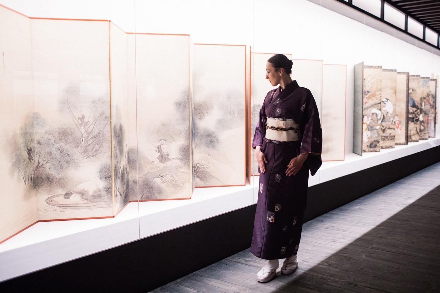 Посетители в кимоно могут попасть в музей без очереди