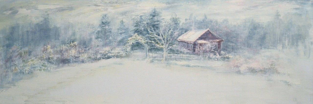 Анна Рядинская.Снежным утром
