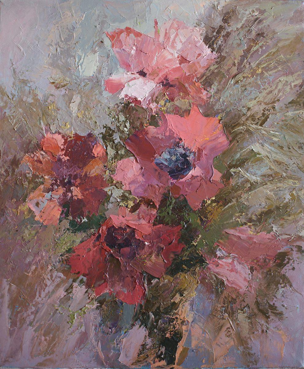 Выставка Натальи Егоровой «Дыхание цветов»