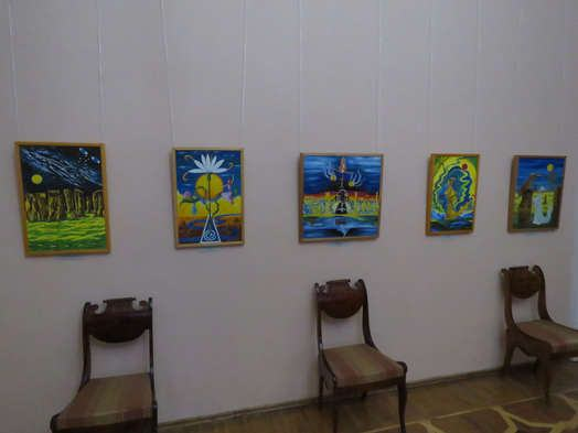 """Exhibition of paintings by Lyubov Talimonova """"Through times and spaces"""""""