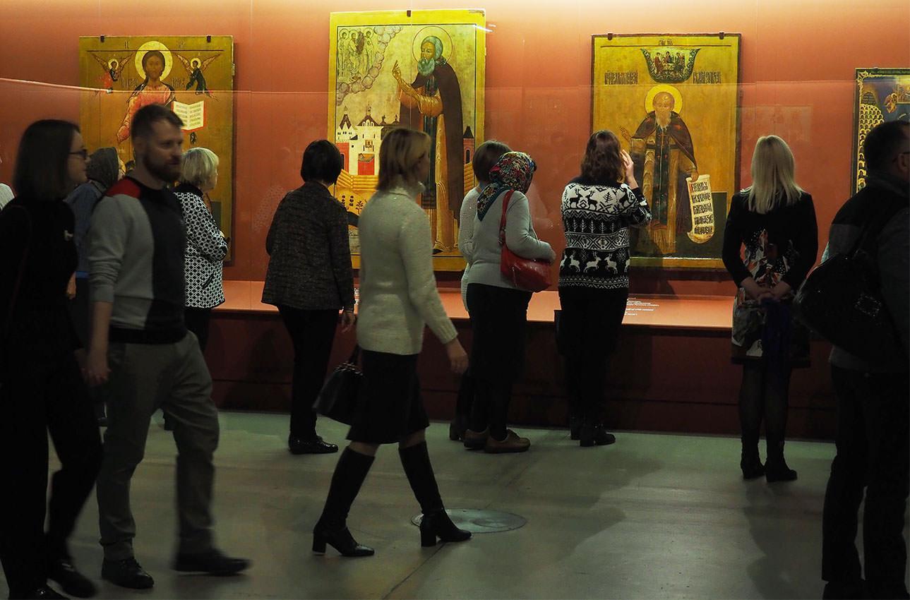 Игорь Дрёмин: Выставка «Сокровища музеев России»