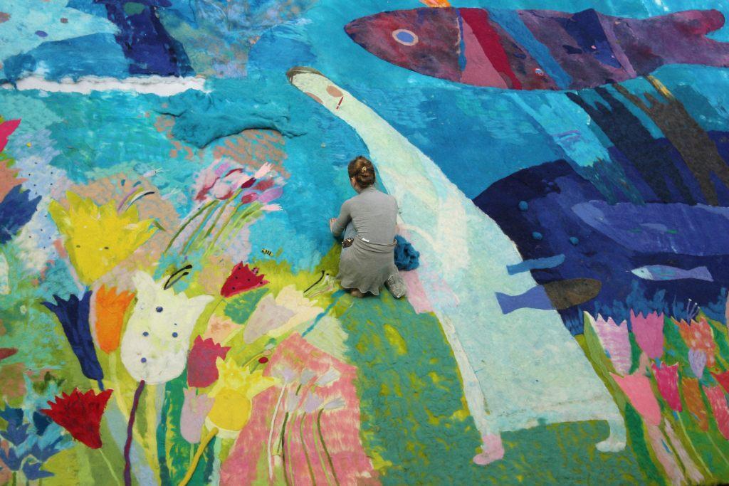 Выставка работ творческой мастерской Валерии ЛОШАК «ЦВЕТЫ И ПТИЦЫ», 0+