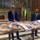 The Vatican issued a unique three-volume book with photographs of the frescoes of the Sistine Chapel