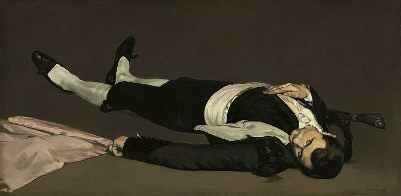 The Dead Toreador, Édouard Manet