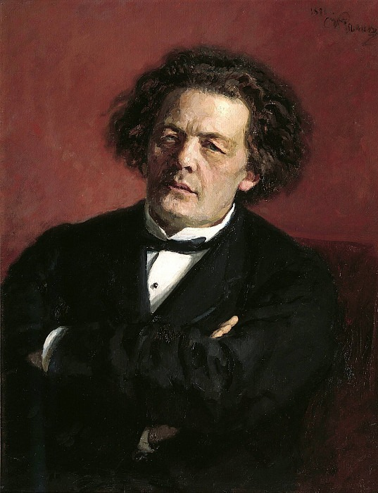 Portrait of the Composer Anton Rubinstein. 1881, Ilya Repin
