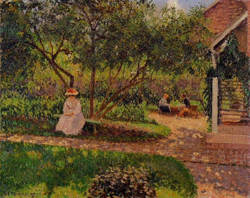 Corner of the Garden in Eragny. 1897, Camille Pissarro