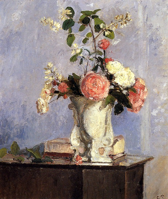 Bouquet Of Flowers, Camille Pissarro
