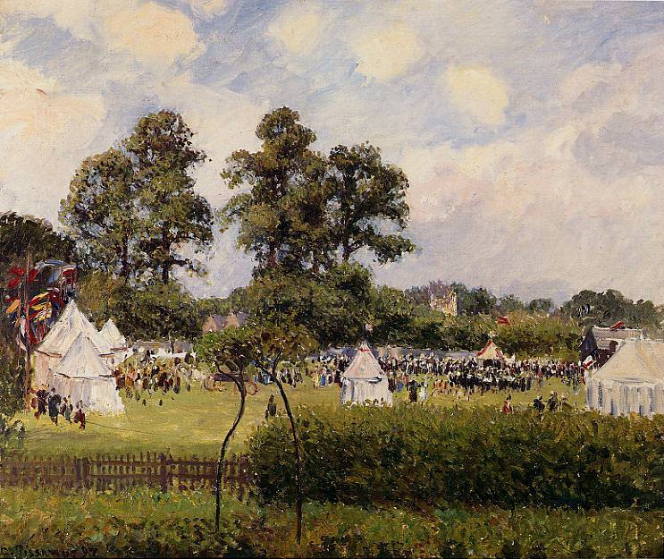 Jubilie Celebration at Bedford Park, London. 1987, Camille Pissarro