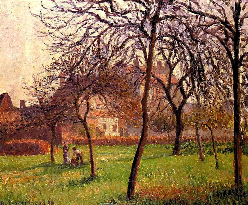 Mother Luciens Field at Eragny. 1898, Camille Pissarro