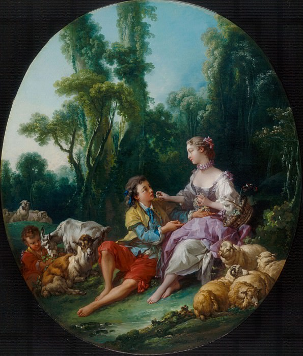 Are They Thinking about the Grape , Francois Boucher
