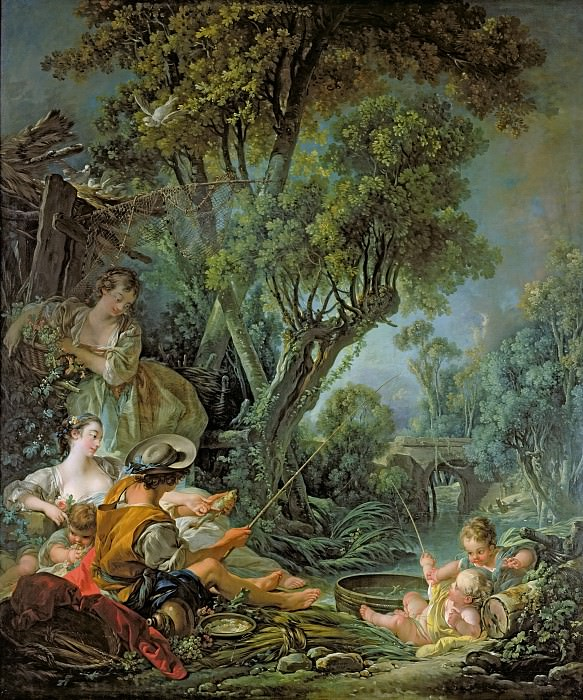 The Anglers, Francois Boucher