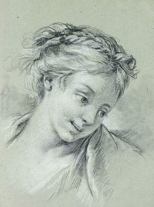 Head of a Girl2, Francois Boucher