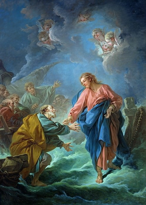 Saint Peter Invited to Walk on the Water, Francois Boucher