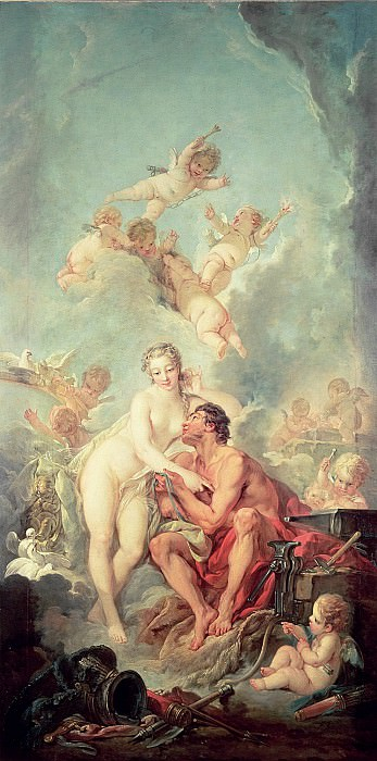 Venus and Mars, Francois Boucher