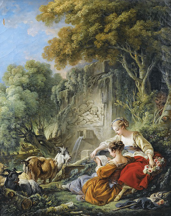 The Reading Of The Letter, Francois Boucher