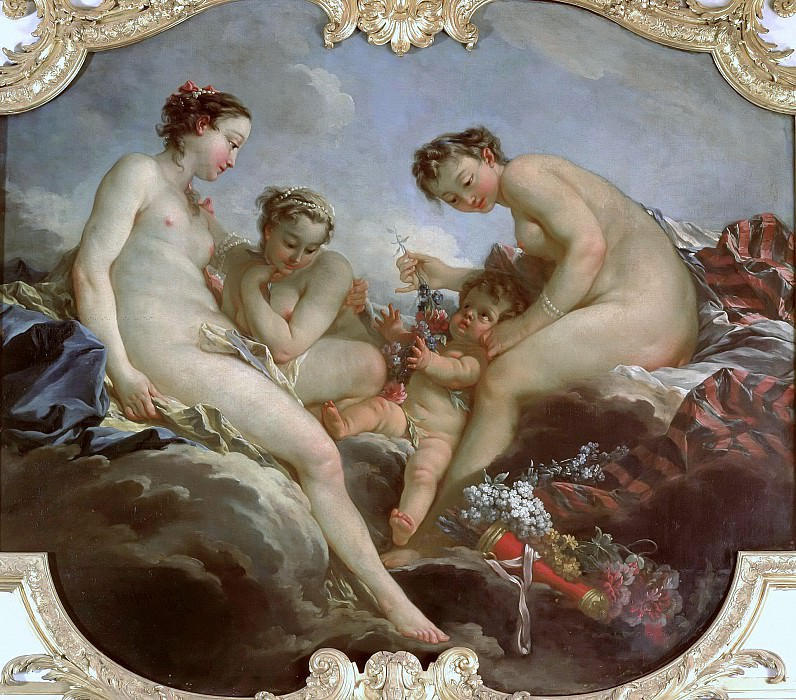 The Three Graces, Francois Boucher