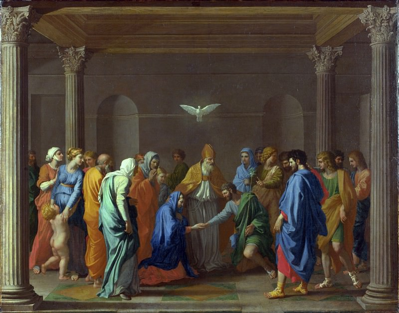 Marriage, Nicolas Poussin