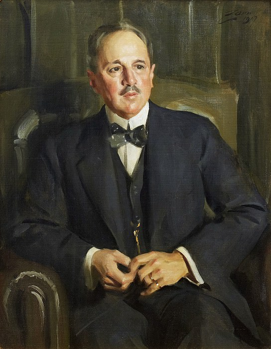 Axel Jacobsen, Anders Zorn