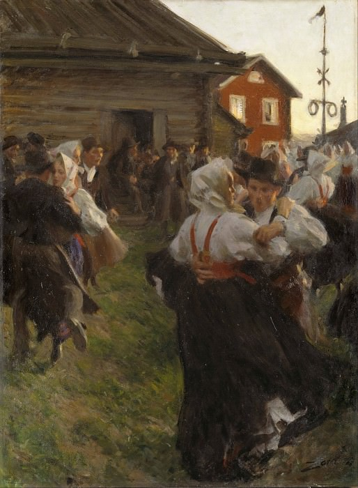 Midsummer Dance, Anders Zorn
