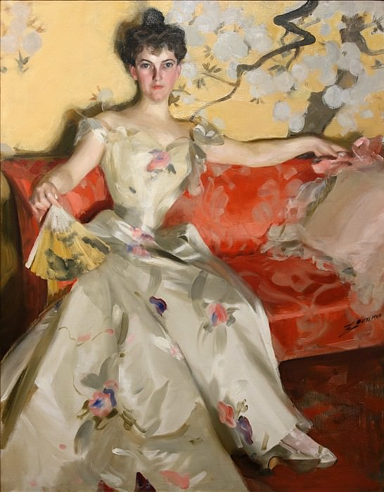 Mrs Donald Cameron, Anders Zorn