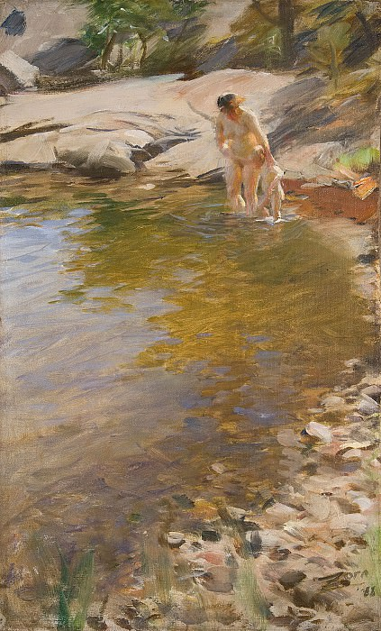 Morning Toilet, Anders Zorn