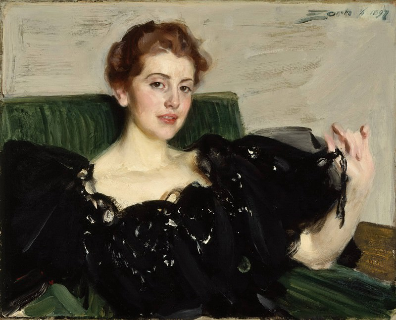Mrs. Lucy Turner Joy, Anders Zorn