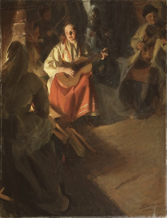 Musical Family, Anders Zorn