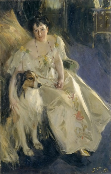 Mrs. Walter Rathbone Bacon Virginia Purdy, Anders Zorn