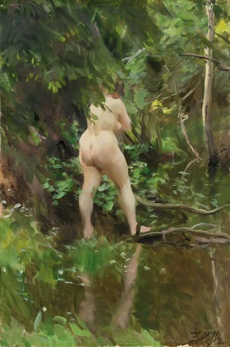 THE FLOOD, Anders Zorn