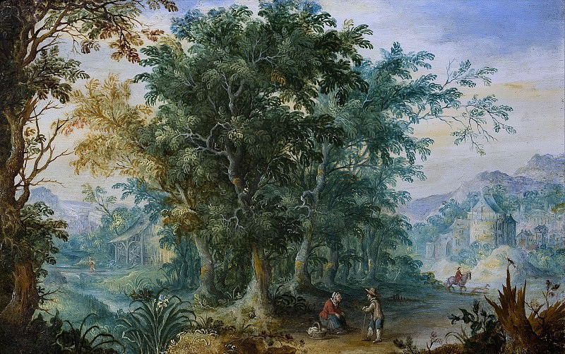 Forest landscape, Jan Brueghel The Elder