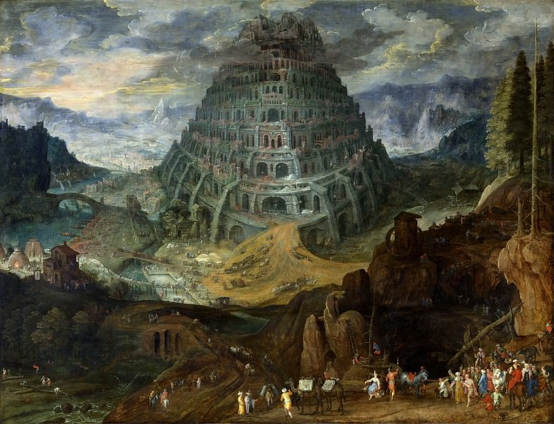 The Tower of Babel, Jan Brueghel The Elder