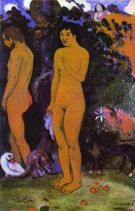 Adam And Eve, Paul Gauguin
